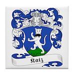 Katz Family Crest Tile Coaster