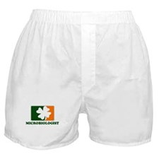 Irish MICROBIOLOGIST Boxer Shorts