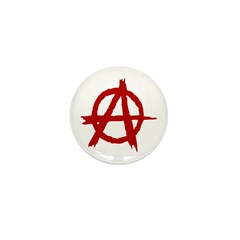 Anarchy Symbol Mini Button (100 pack)