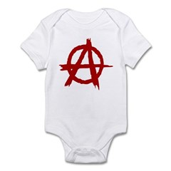 Anarchy Symbol Infant Bodysuit