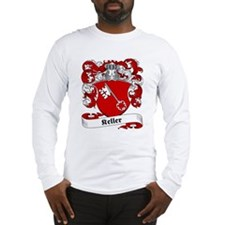 Keller Family Crest Long Sleeve T-Shirt