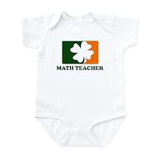 Irish MATH TEACHER Infant Bodysuit