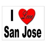 I Love San Jose California Small Poster