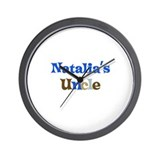 Natalia's Uncle Wall Clock