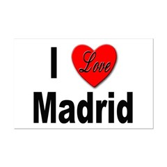 I Love Madrid Spain Posters