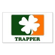 Irish TRAPPER Rectangle Decal