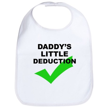 Daddy's Little Deduction - Bib