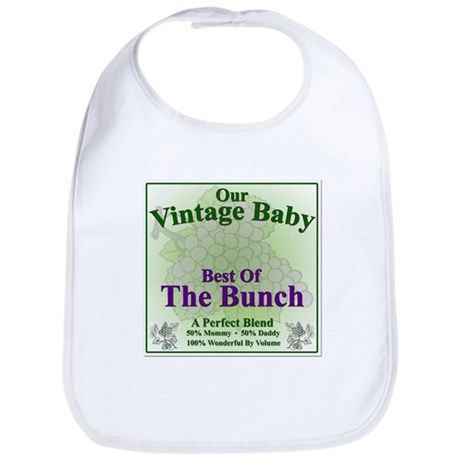 Best Of The Bunch Wine Label - Bib
