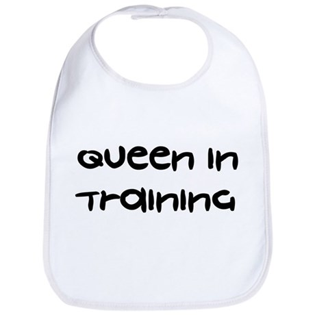 Queen In Training - Bib