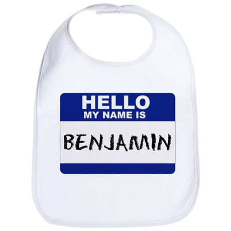 Hello My Name Is Benjamin - Bib