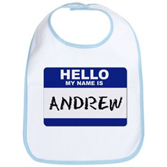 Hello My Name Is Andrew - Bib
