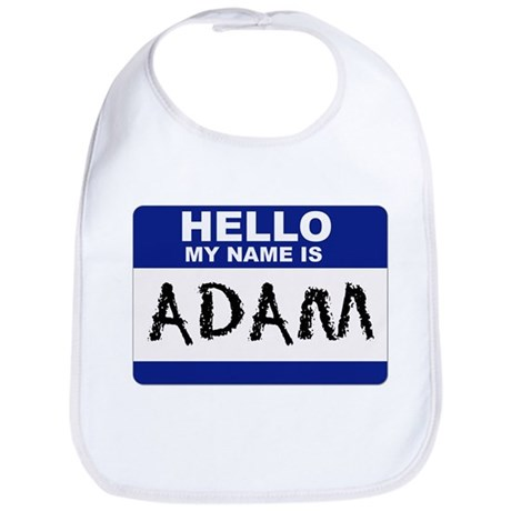 Hello My Name Is Adam - Bib