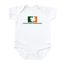 Irish US MILITARY PERSONNEL Infant Bodysuit