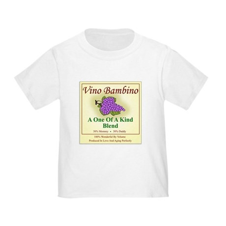 Vino Bambino Wine Label - Toddler T-Shirt