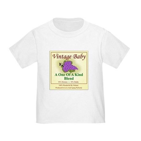 Vintage Baby Wine Label - Toddler T-Shirt