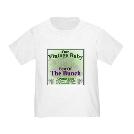 Our Vintage Baby Wine Label Toddler T-Shirt