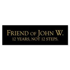 12 Years Bumper Bumper Sticker