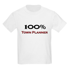 100 Percent Town Planner Kids Light T-Shirt
