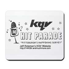 KQV Website Hit Parade Mousepad