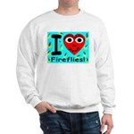 I (Heart) Fireflies Sweatshirt
