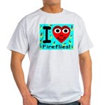I (Heart) Fireflies Ash Grey T-Shirt
