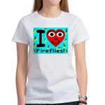 I (Heart) Fireflies Women's T-Shirt