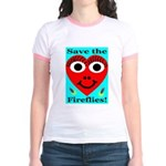 Save the fireflies! Jr. Ringer T-Shirt
