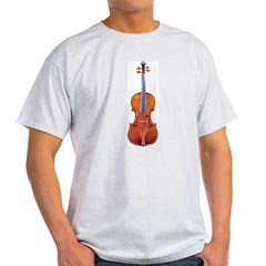 Violin Tee Shirt -- Yehudi Menuhin Quote