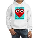 Fireflies are for lovers Hooded Sweatshirt