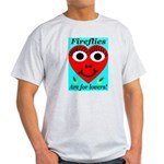 Fireflies are for lovers Ash Grey T-Shirt