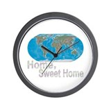 [Earth] Home, Sweet Home - Wall Clock