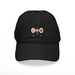 Peace Love Harrier Black Cap