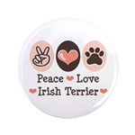 Peace Love Irish Terrier 3.5
