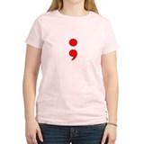 Women's Light Semicolon T-Shirt