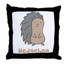 Hedgehog Throw Pillow