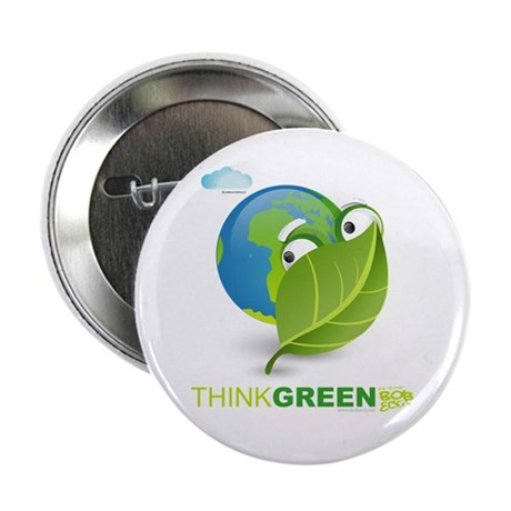 "Think Green 2.25"" Button"