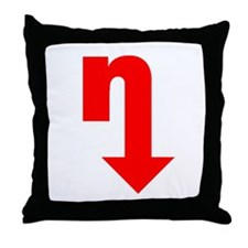'big n' Throw Pillow