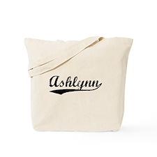 Vintage Ashlynn (Black) Tote Bag