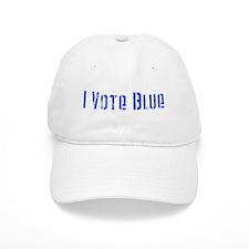 I Vote Blue 2 Baseball Cap