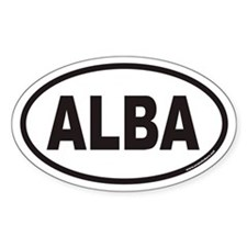 ALBA Ancient Scotland Euro Oval Decal