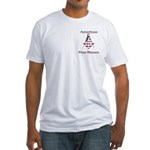 American Free Mason Fitted T-Shirt