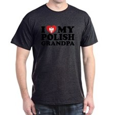 I Love My Polish Grandpa T-Shirt