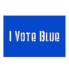 I Vote Blue 2 Postcards (Package of 8)