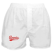 Vintage Annie (Red) Boxer Shorts
