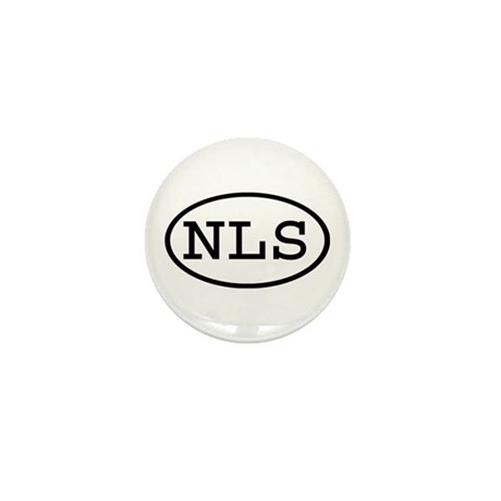 NLS Oval Mini Button (10 pack)