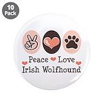 Peace Love Irish Wolfhound 3.5