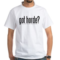 got horde White T-Shirt