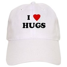 I Love HUGS Baseball Cap