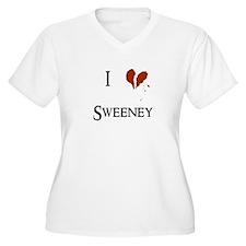 I heart Sweeney T-Shirt