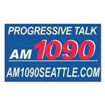 AM1090 Rectangle Sticker
